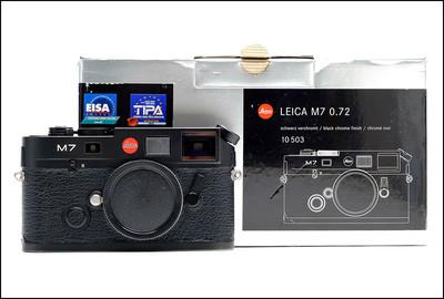 徕卡 Leica M7 TTL 0.72 黑色 带包装