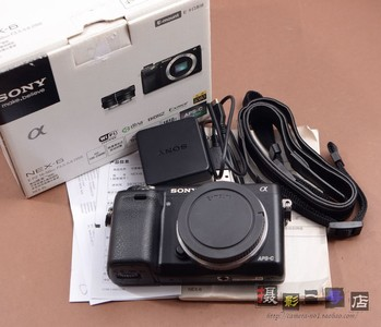 Sony 索尼 NEX-6L 成色好 99新 有包装 保卡 说明书 黑色