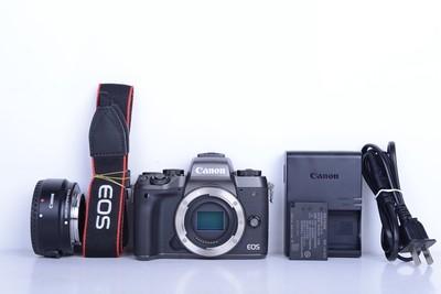 98新二手Canon千亿国际娱乐官网首页 M5 单机 微单相机+EF转M原厂转接环B2609京