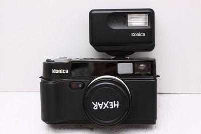 柯尼卡巧思 Konica/HEXAR 旁轴全自动 胶卷相机 巧思 带闪光灯