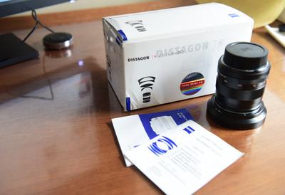 卡尔·蔡司 Distagon T* 25mm f/2.8 ZF.2