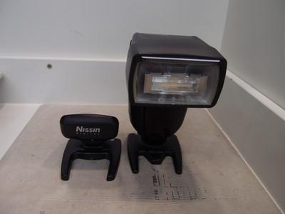 98新 NISSIN 日清 DI700A 闪光灯+索尼触发器!索尼微单口!