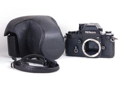 尼康  F2 photomic  AS 黑色机身 带皮套 背带 #jp18274