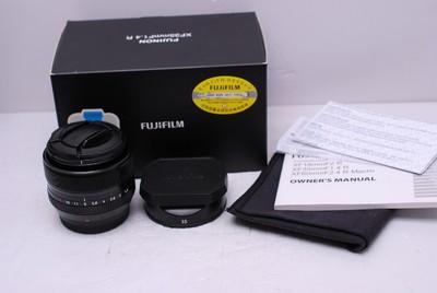 富士 XF 35/1.4 35 mm F1.4 FUJI 富士35/1.4 富士 35/1.4 带包装
