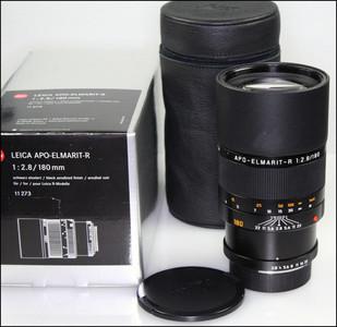 徕卡 Leica R 180/2.8 APO ELMARIT-R ROM 最后期 银盒包装