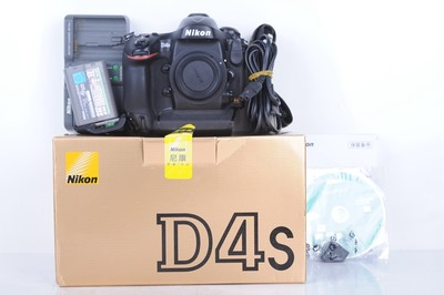 93新二手Nikon尼康 D4s 单机 快门36500多次 (B0713)【京】