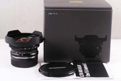 福伦达 ULTRA WIDE-HELIAR 12mm f/5.6 Aspherical II
