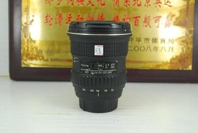 尼康口 图丽 12-24 F4 超广角 单反镜头 半幅恒圈 可置换