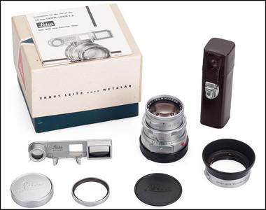 徕卡 Leica M 50/2  DR 带眼镜 光罩 包装 刚保养过 保修1年