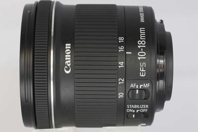 【广角变焦镜头】佳能 EF-S 10-18/4.5-5.6 IS STM(NO:1583)