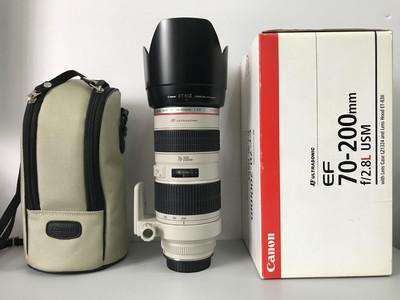 佳能 EF 70-200mm f/2.8L USM(小白) 3131#【天津福润相机店】