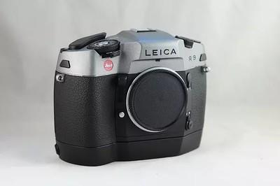 Leica R9 + 机身马达 炭灰色