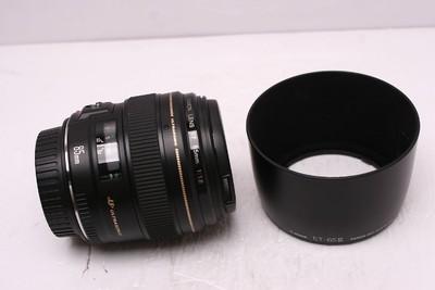 佳能 EF 85mm1.8 佳能85/1.8 佳能 85/1.8 带原厂光罩