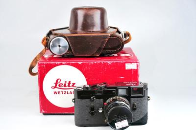 Leica/徕卡 M3 黑漆+ SUMMICRON 50/2 黑漆RIGID套机#32694