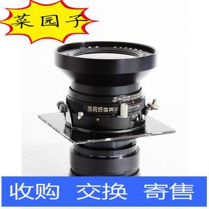 玛米亚 MAMIYA P 75/5.6 日本本土已改6X9座机镜头 带镜头板