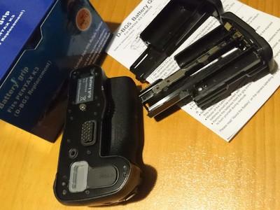 国产D-BG5 配宾得K3 k3ii 电池手柄