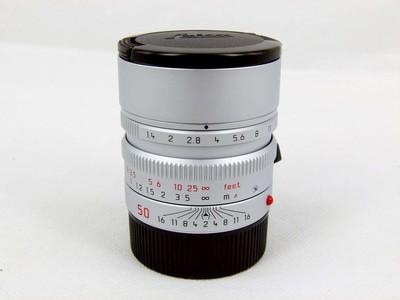 包装齐全的徕卡Leica Summilux-M50/1.4 ASPH 银色
