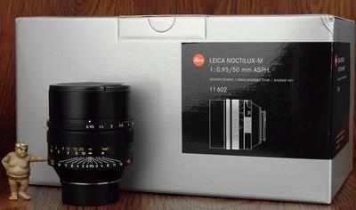 徕卡 50mm f:0.95 ASPH 夜神 梦幻大光圈 箱说全