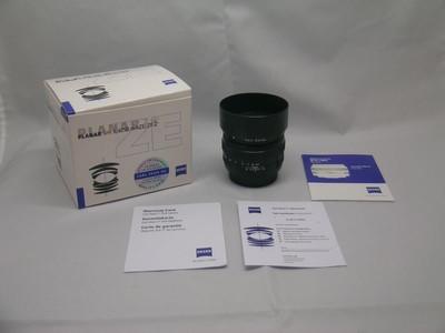 出售 99新 蔡司 T* 50mm f/1.4 ZE 佳能口 包装齐全 请看图片