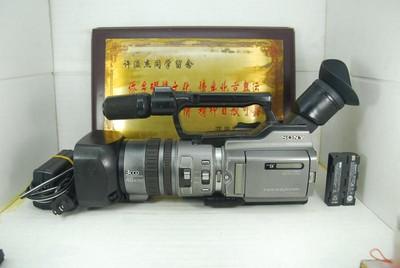 索尼 DCR-VX2100E 专业摄像机 mini DV 磁带卡带 录像机 可置换