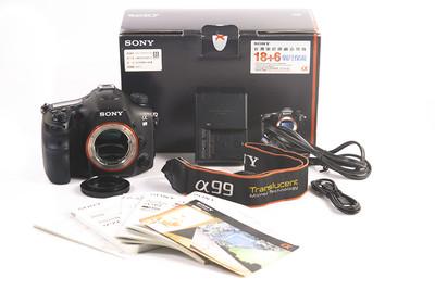 索尼 A99 2430万像素 带原装盒子 背带  卡等 #HK7249