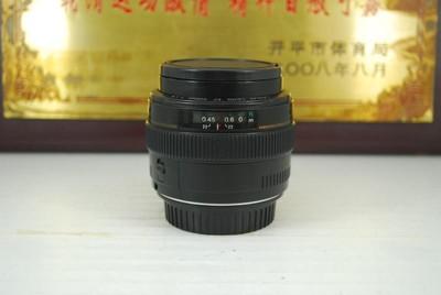 佳能 50mm F1.4 USM 单反镜头 大光圈 定焦人像牛头 可置换