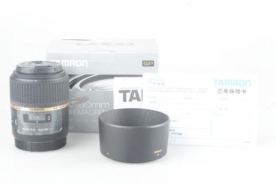 98新 腾龙 SP AF 60mm f/2 Di II Macro 1:1(G005)佳能卡口