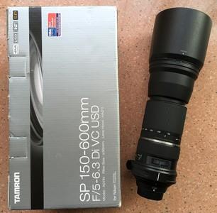 腾龙 SP 150-600mm f/5-6.3 Di VC USD(A011)尼康口镜头