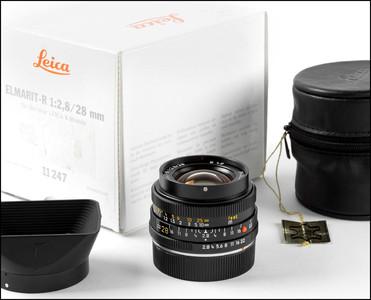 徕卡 Leica R 28/2.8 ELMARIT-R E48 德产 后期方字版 带包装