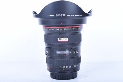 96新二手 Canon佳能 17-40/4 L USM 广角镜头(B1632)【京】