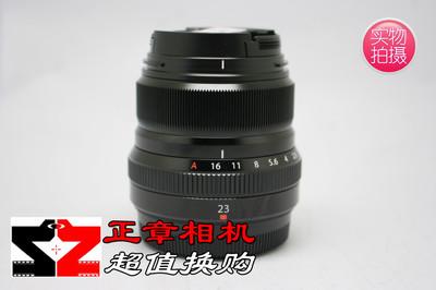 Fujifilm/富士XF23mm F2.0 定焦 大光圈人文微单相机镜头 99新