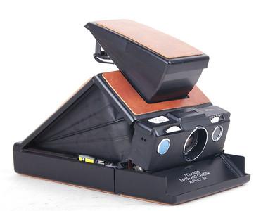 实际测试完动品 宝丽来 SX-70 土地相机α1 黄色饰皮 #jp17953