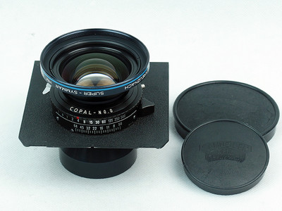 施耐德Kreuznach Super-Symmar HM 120mm F5.6 极美品!已售