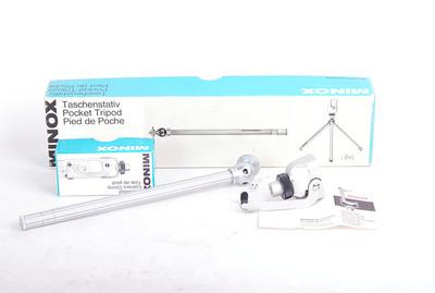 德国产 MINOX 专用云台银色便携脚架  带原包装#jp18105