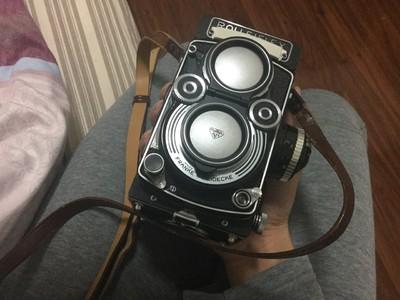 自用禄来Rolleiflex 3.5F Planar 后期黑脸六片镜头完美