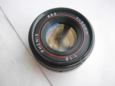 很新凤凰50mmf1.8金属制造镜头,PK卡口,可配各种数码相机
