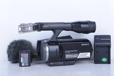 96新二手Sony索尼 NEX-VG10 专业摄像机(B0767)【京】