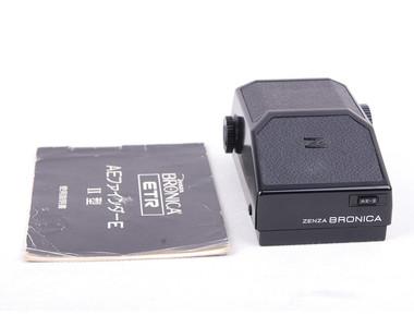 【美品】BRONICA/碧浪之家AE II finder 取景器 for ETR #jp19131