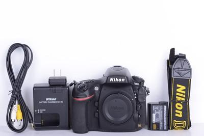 96新二手Nikon尼康 D800 单机 快门9100多次 (B2716)【京】