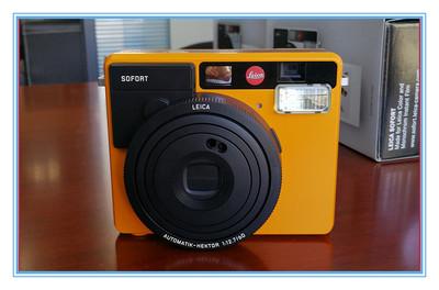 徕卡相机拍立得一次成像相机,黄色 蓝色 白色 徕卡SOFOAT 拍立得