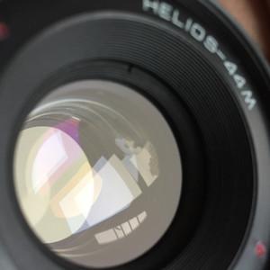 旋焦八羽怪Helios 44M 58mm 2.0大光圈标头