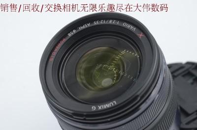 新到 9成新 松下 12-35 2.8 广角镜头 微单专用 编号8031