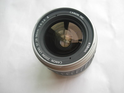 较新佳能 EF 28-90mm  镜头,价廉物美