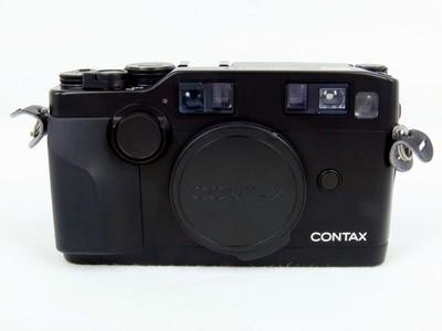 带铝箱的康泰时Contax G2黑色带28,45,90闪光灯