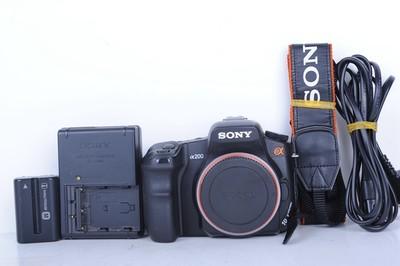 95新二手 Sony索尼 α200 A200单机 单反相机(B0936)【京】