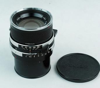 禄来 Rolleiflex SL66  Sonnar150mm f4带快门 极上品!