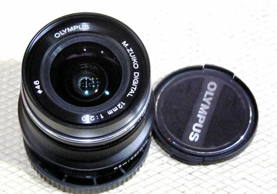 奥林巴斯 M.ZUIKO DIGITAL ED 12mm/2.0 黑色微单镜头