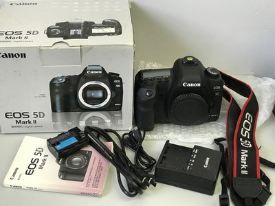 佳能 5D Mark II   5D2  带包装实物图 天津福润相机【3042#】