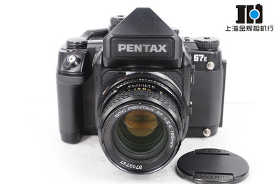 Pentax宾得 67II+105/2.4 67ii 中幅胶片套机 测光顶 实体现货