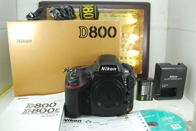 92新 尼康 D800 全画幅 数码单反相机 3600万像素 可置换